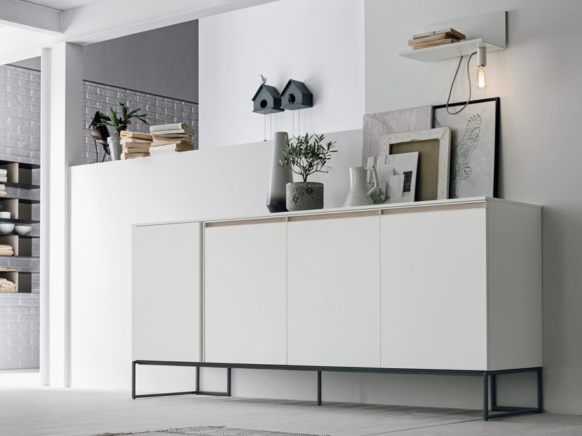 Lacquered sideboard REGOLO | Sideboard by Gruppo Tomasella