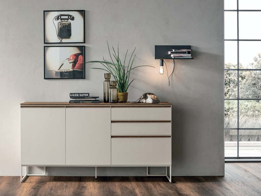 Lacquered sideboard with drawers REGOLO | Sideboard with drawers by Gruppo Tomasella