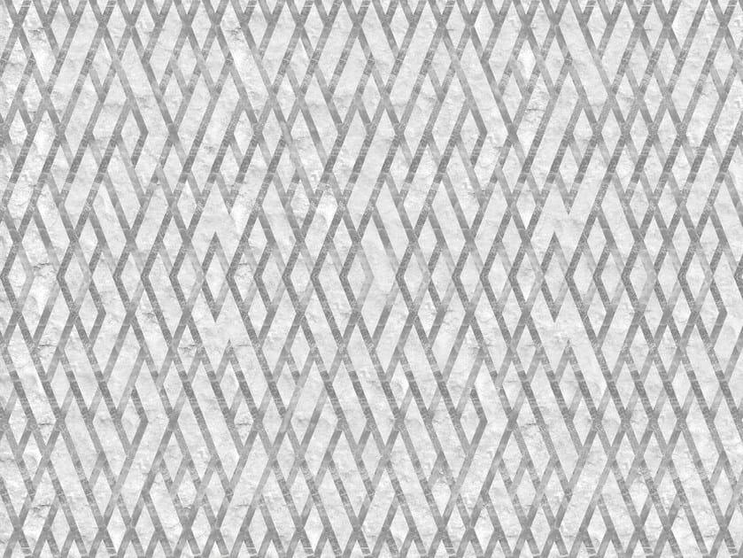 Carta Da Parati A Motivi Geometrica Reinassance Collezione Weft By