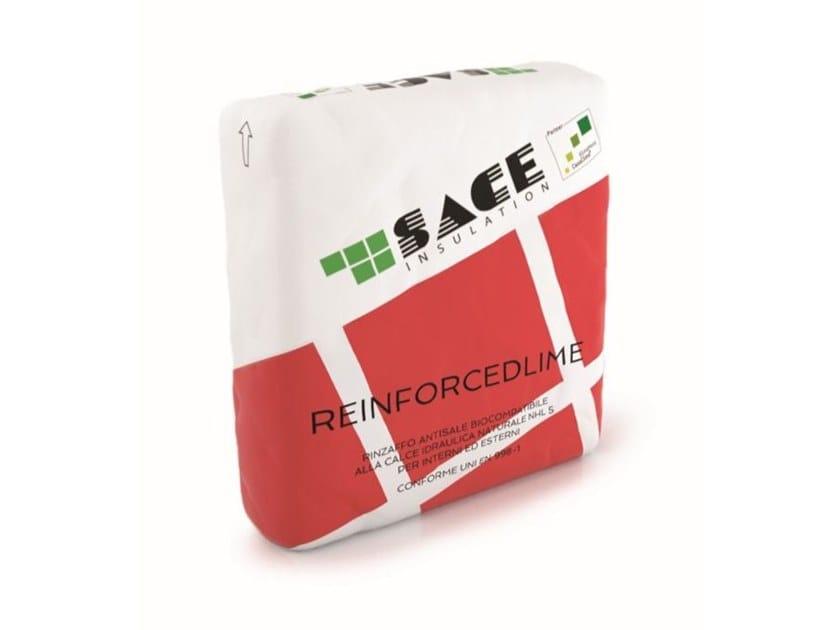 Malta strutturale biocompatibile REINFORCEDLIME by Sace Components