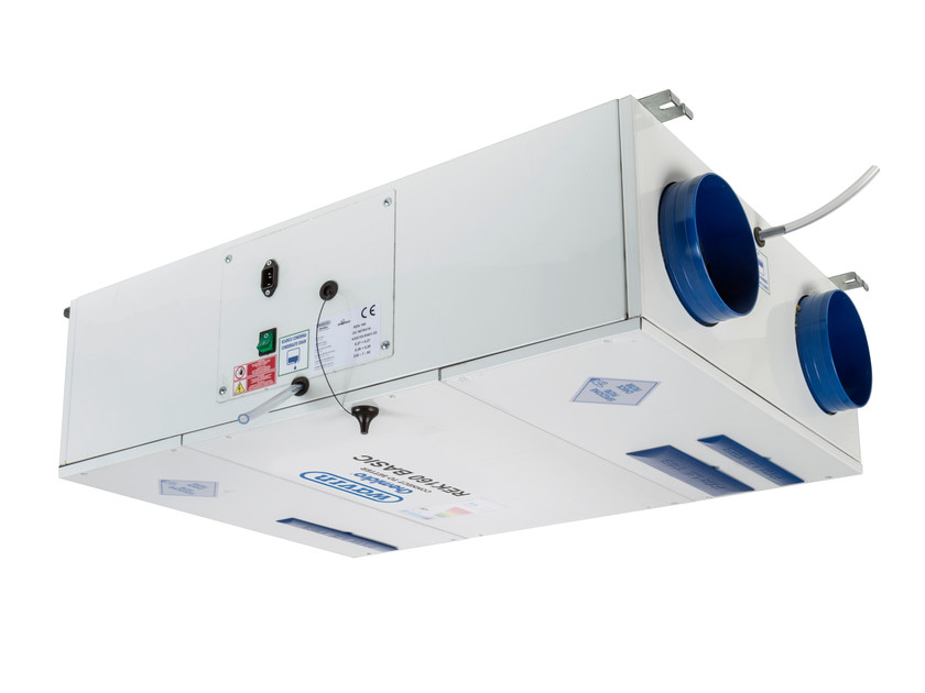 Mechanical forced ventilation system REK by WAVIN ITALIA