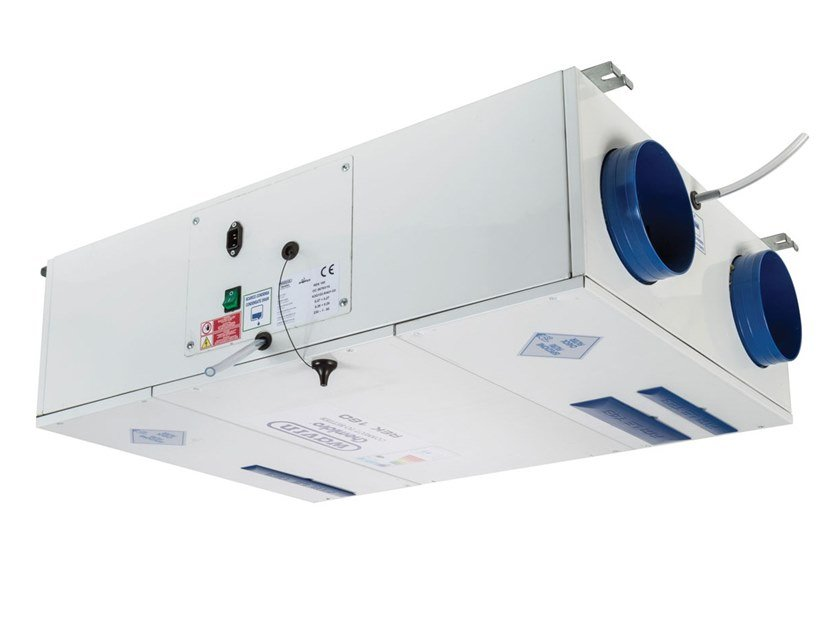 Mechanical forced ventilation system REK CEILING OR WALL by WAVIN ITALIA