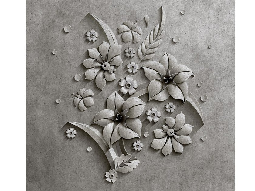 Digital printing wallpaper RELIEF by Architects Paper