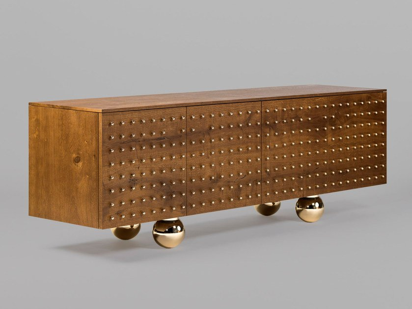 Wooden sideboard with doors REmix VOL.2 by BD Barcelona Design