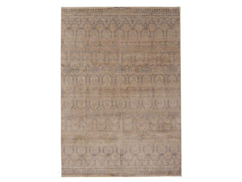 Handmade rectangular rug RENAISSANCE SILK by EBRU