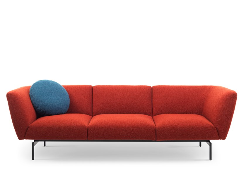 Sectional 3 seater fabric sofa RENDEZ-VOUS | 3 seater sofa by Saba Italia