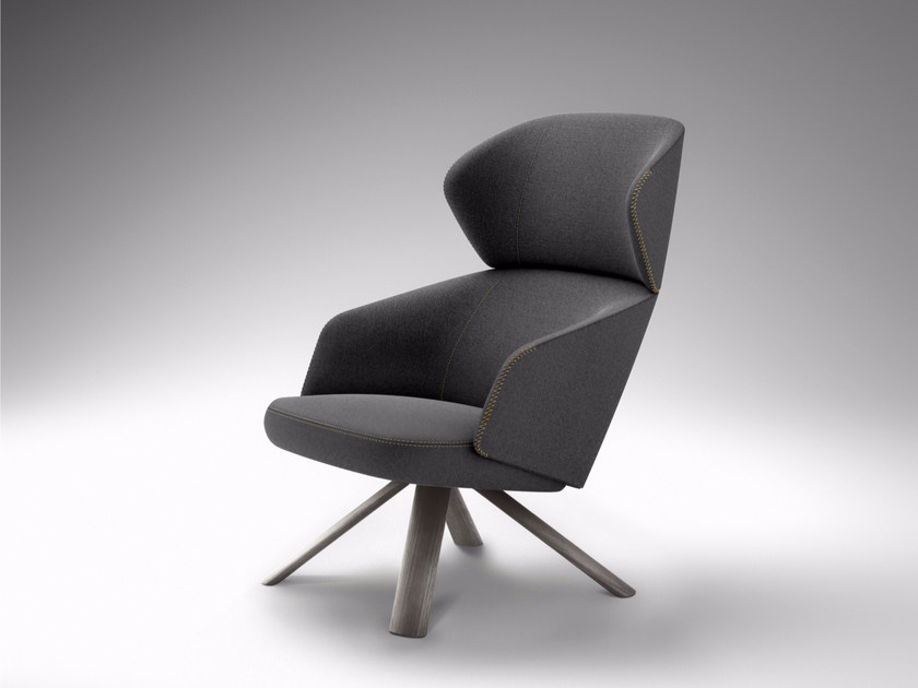 Wingchair with armrests with headrest REPAUS | Wingchair by Bosc