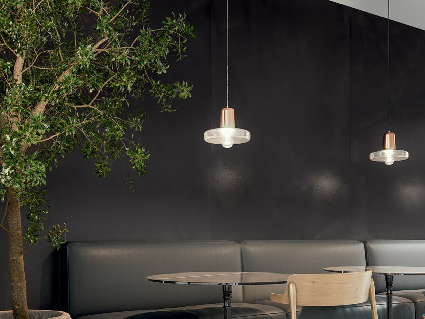 Porcelain stoneware wall/floor tiles with concrete effect RES ART LAVA by CERAMICA FONDOVALLE