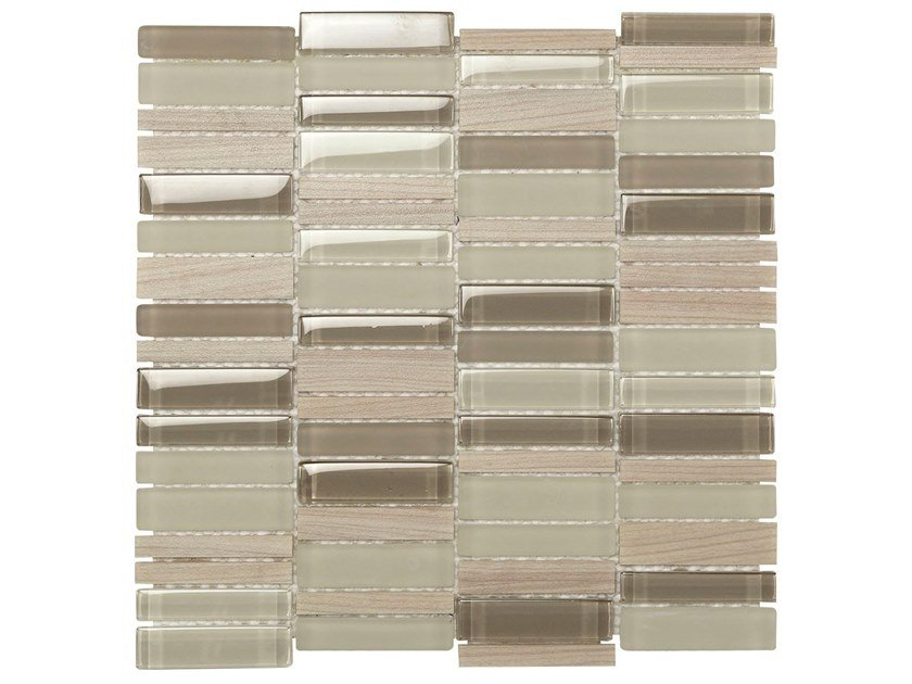 Glass mosaic RESIN GLASS by BOXER