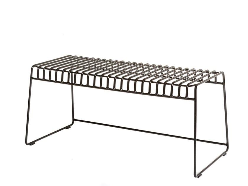 Steel garden bench RESÖ | Garden bench by Skargaarden