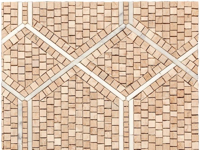 Marble mosaic RETE by FRIUL MOSAIC