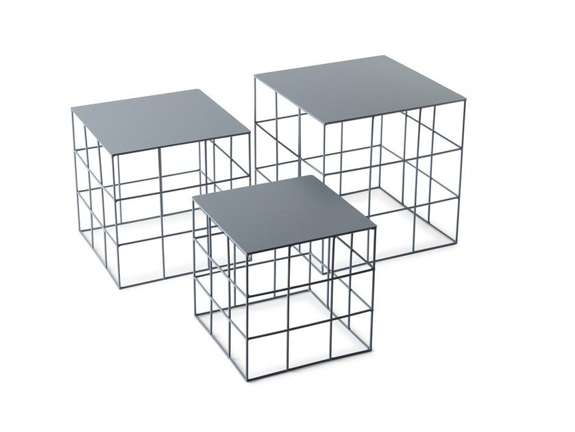 Low Square Coffee Table RETON | Square Coffee Table By Atipico