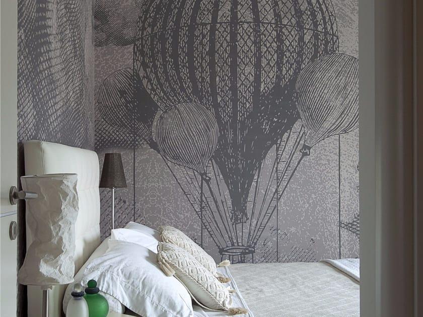 Panoramic wallpaper RETRÒ by Inkiostro Bianco