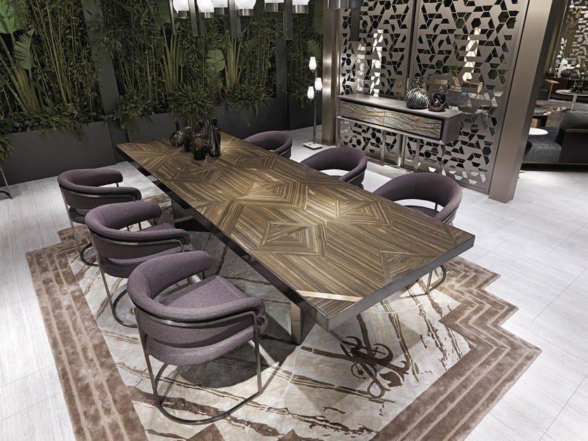 Rectangular marble table REVENGE by Visionnaire
