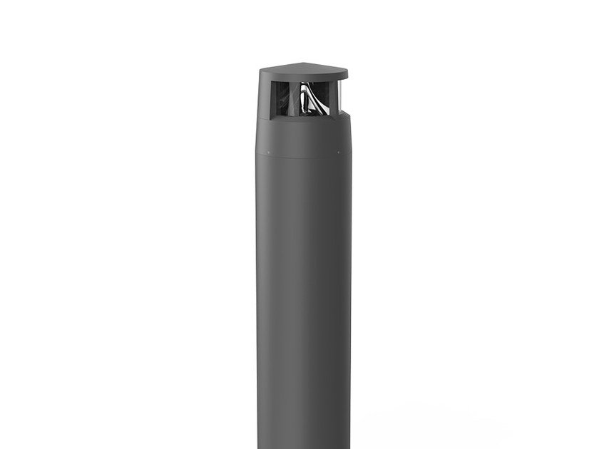 LED aluminium bollard light REVERS 1 by LANZINI