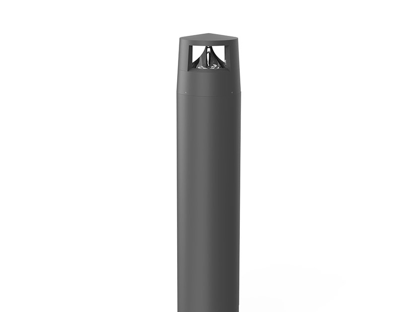 LED aluminium bollard light REVERS 2 by LANZINI