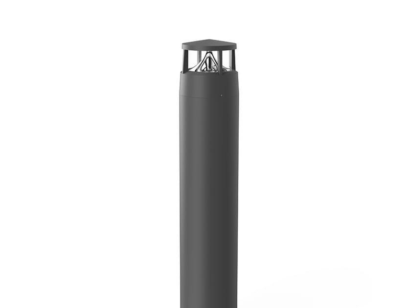 LED aluminium bollard light REVERS 4 by LANZINI