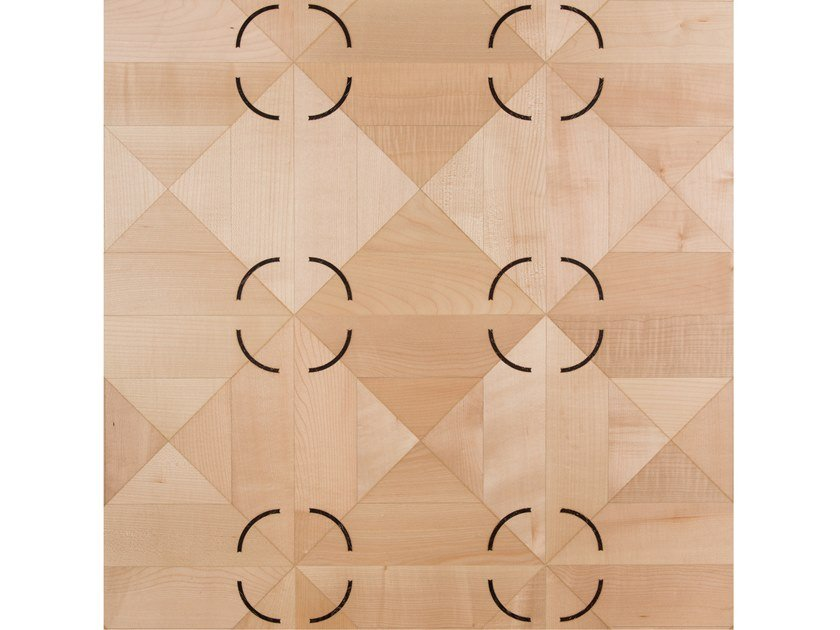 Maple and Wenge wall/floor tiles REVERSO by Palazzo Morelli