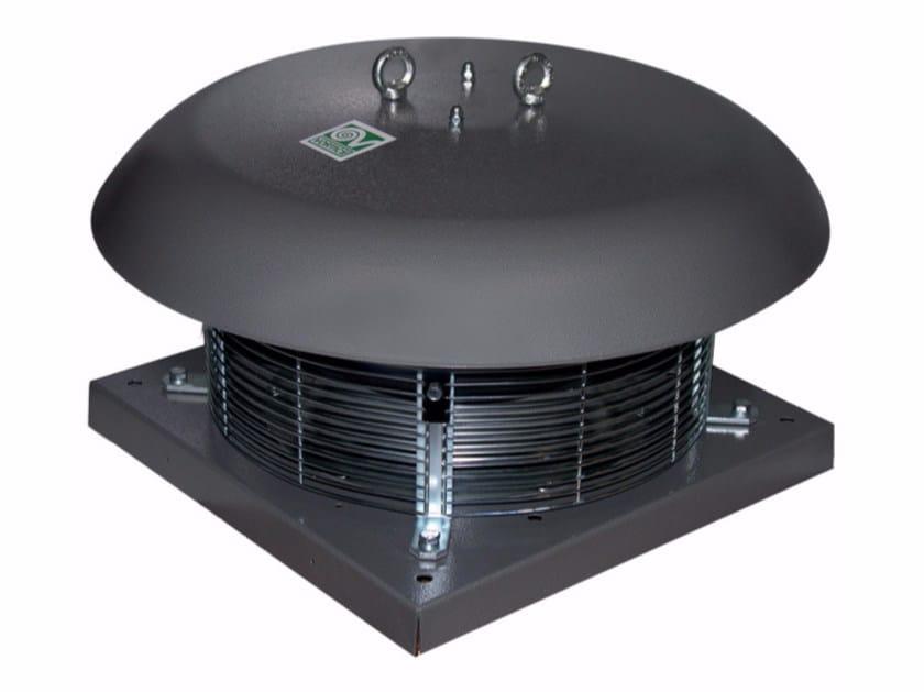 Aspiratore centrifugo da tetto a scarico radiale RF-EU T100 8P by Vortice