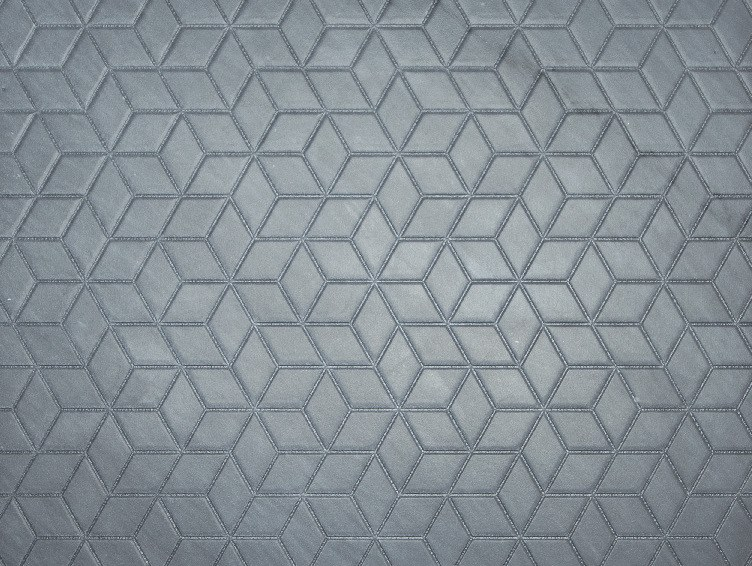 Marble wall/floor tiles RHOMBI BARDIGLIO by TWS