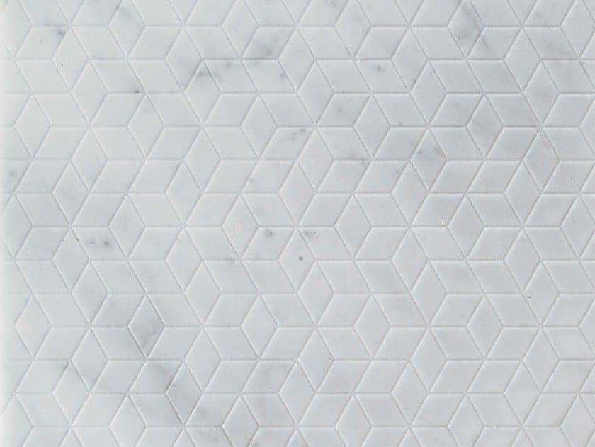 Marble wall/floor tiles RHOMBI CARRARA by TWS