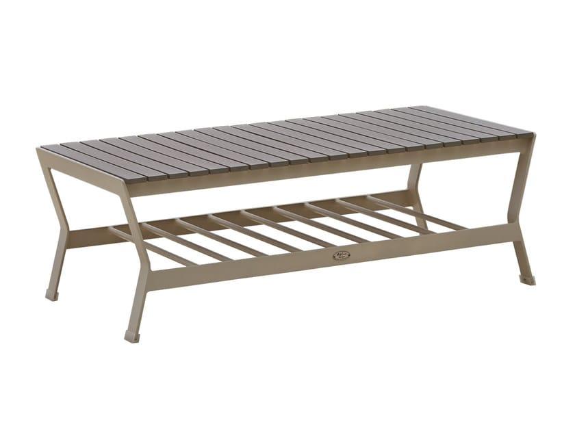 Tavolino da caffè rettangolare per contract RHONE 23164 by SKYLINE design