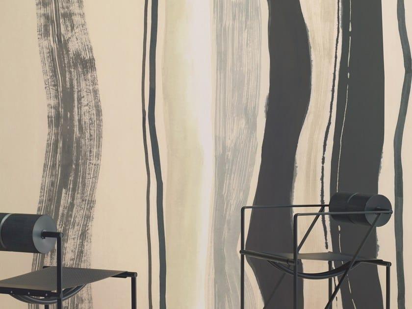Panoramic nonwoven wallpaper RHYTHM by Élitis