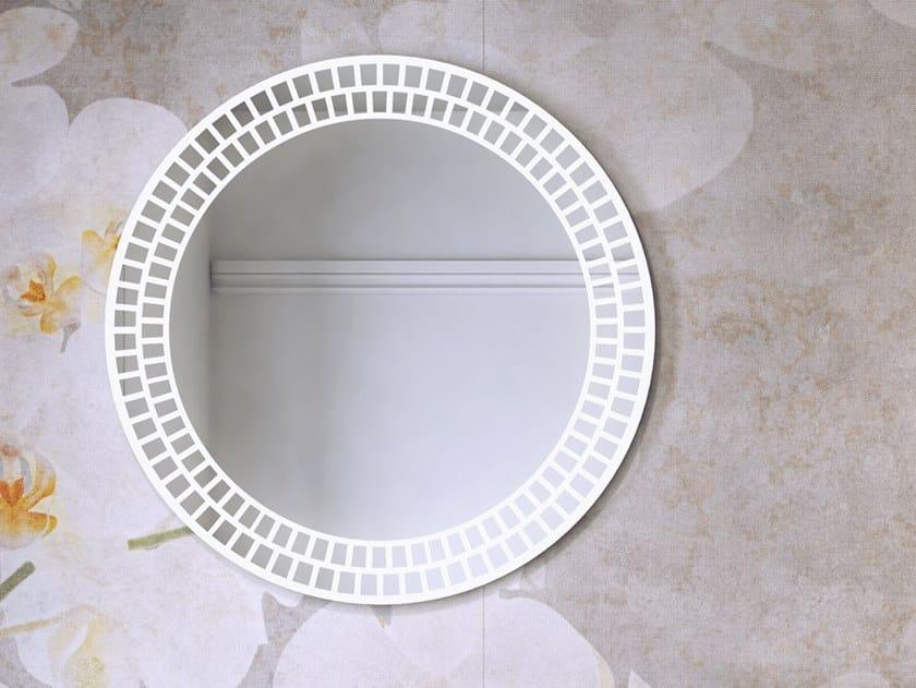 RI-TRATTI | Specchio rotondo