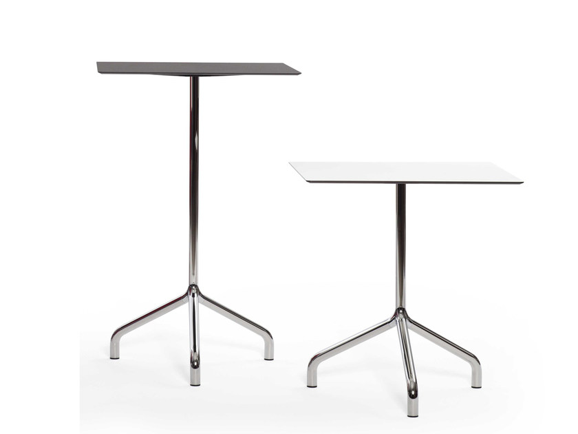 Round aluminium contract table RIBALTINO | Aluminium table by Diemmebi