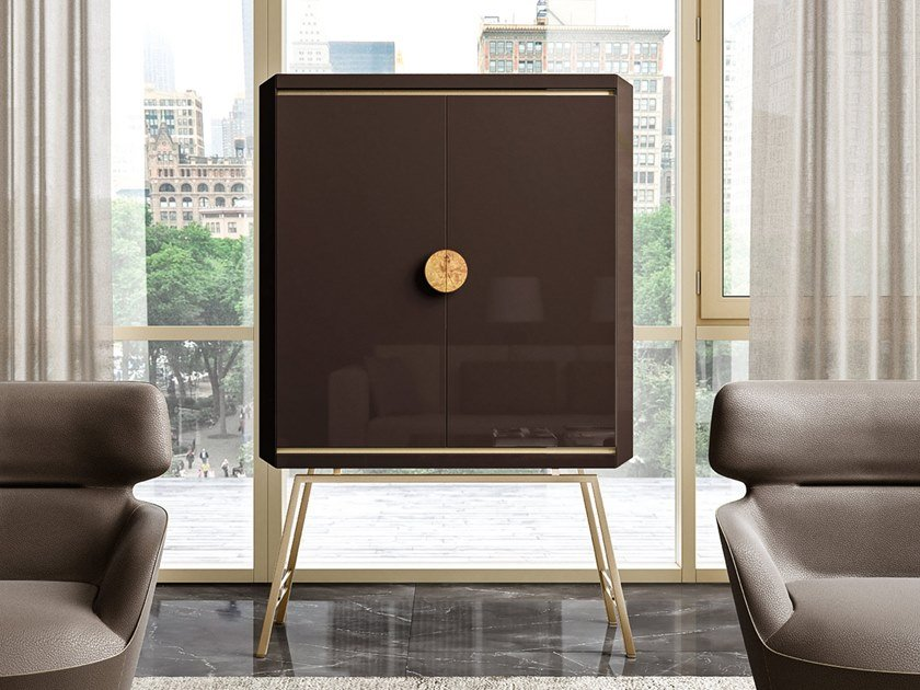 Wooden bar cabinet RICHMOND UPON THAMES | Bar cabinet by Barnini Oseo