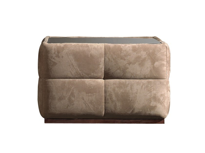 Square coffee table with storage space RICHMOND | Coffee table with storage space by Barnini Oseo