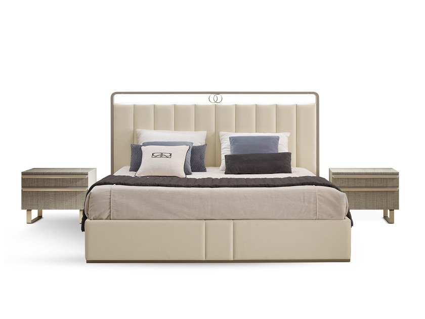 Upholstered Sommier RICHMOND   Double bed by Barnini Oseo