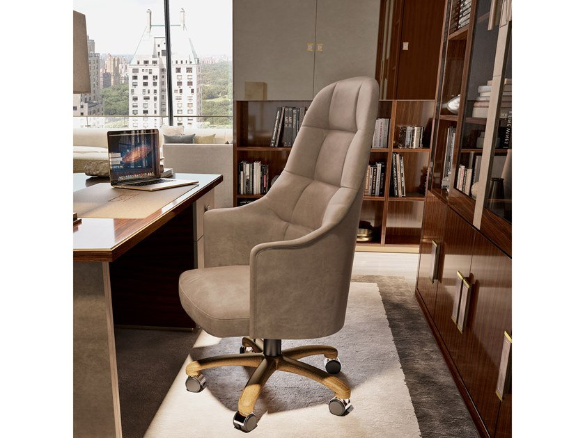 High-back executive chair with 5-spoke base RICHMOND UPON THAMES | Executive chair by Barnini Oseo