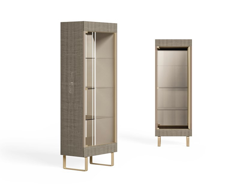 Lacquered wooden display cabinet RICHMOND | Lacquered display cabinet by Barnini Oseo