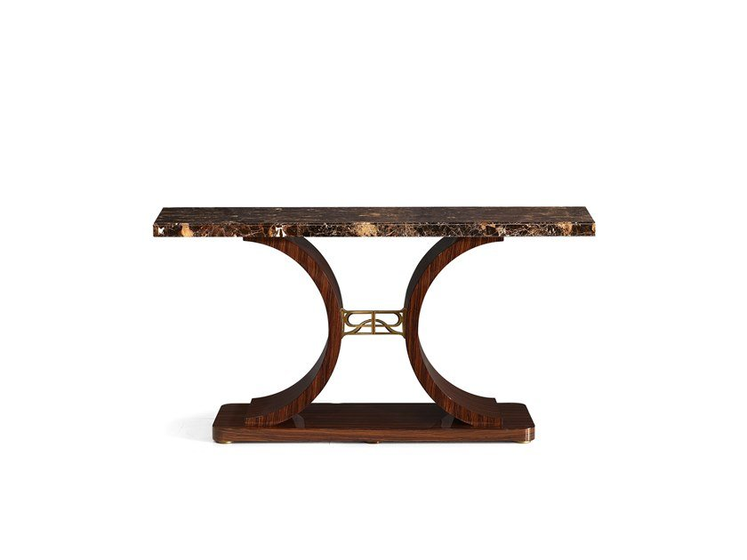 Rectangular marble console table RICHMOND | Marble console table by Barnini Oseo
