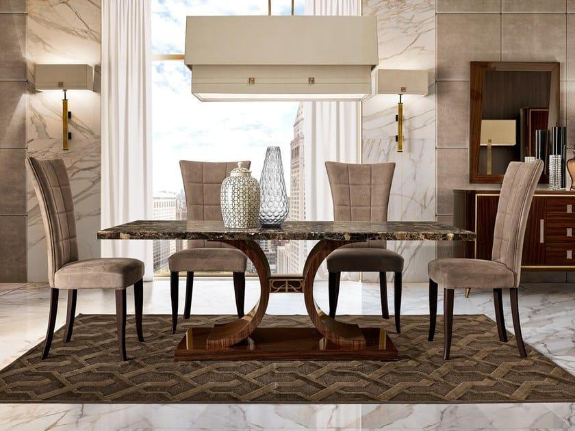 Rectangular marble table RICHMOND UPON THAMES | Rectangular table by Barnini Oseo