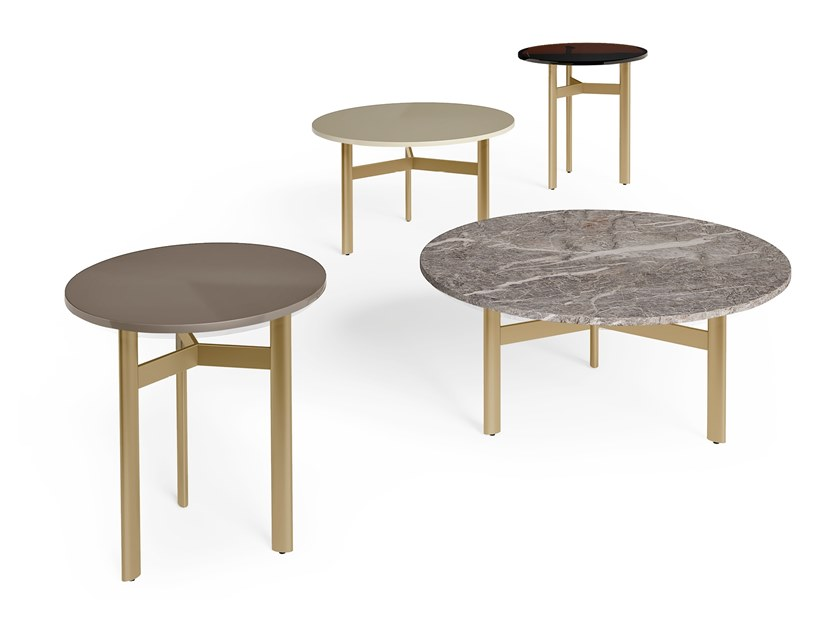 Round marble coffee table RICHMOND   Round coffee table by Barnini Oseo