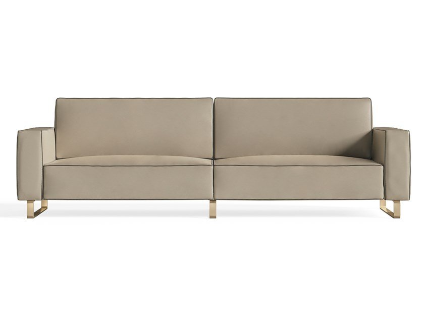Sled base 3 seater fabric sofa RICHMOND UPON THAMES | Sled base sofa by Barnini Oseo