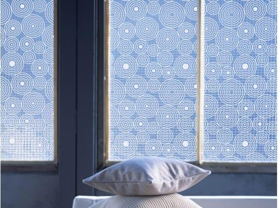 Adhesive decorative window film RICOCHETS by ACTE-DECO