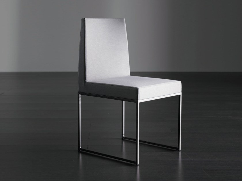 Upholstered chair RIDER TRE by Meridiani