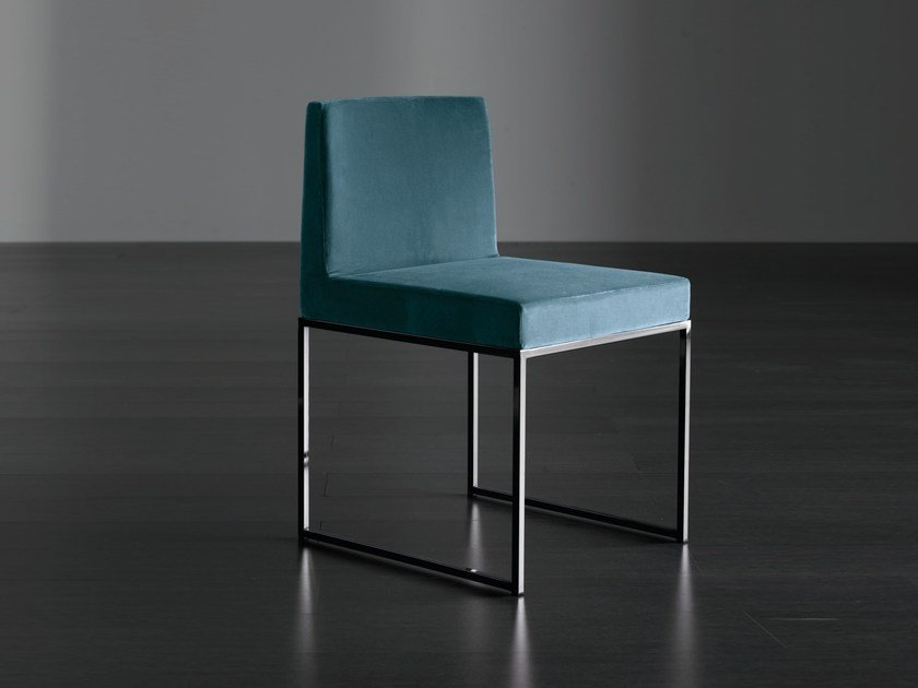 Upholstered chair RIDER UNO by Meridiani