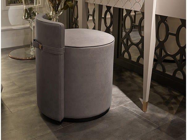 Upholstered easy chair RIFF by Valderamobili