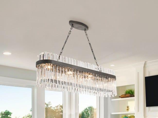 Lead Crystal Pendant Lamp Ssi 7210, Hybris 8 Light Crystal Chandelier