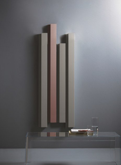 Amazing Hot Water Vertical Aluminium Decorative Radiator RIFT | Decorative Radiator  By Tubes Radiatori