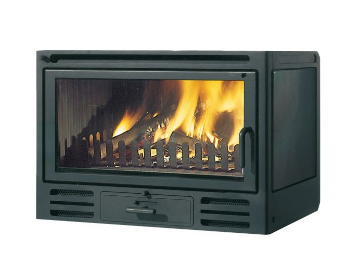 Wood-burning cast iron Fireplace insert FIREBOX RIGA 49 | Fireplace insert by EDILKAMIN