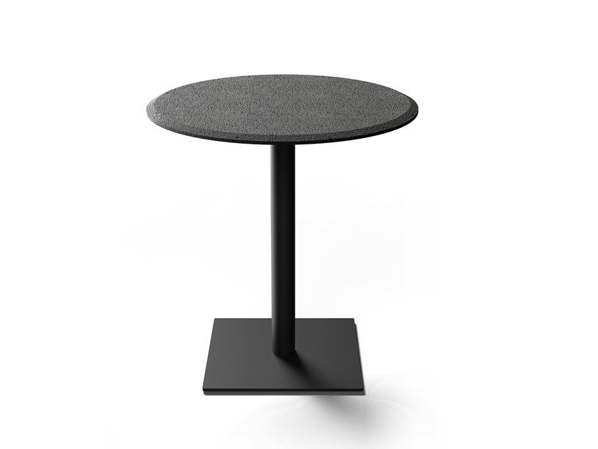 Round lava stone table RIGHT | Table by BUZAO