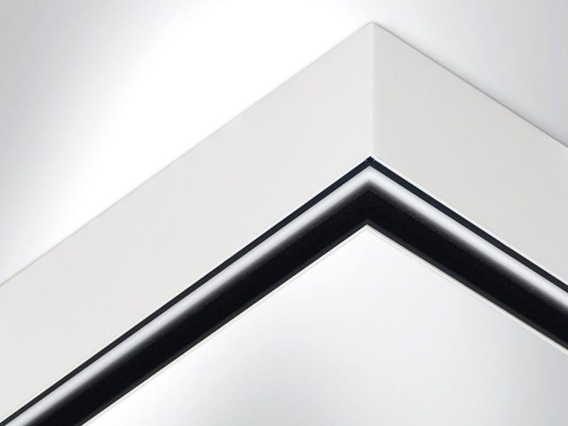LED extruded aluminium ceiling lamp RIGO ANGOLARE by Arcluce