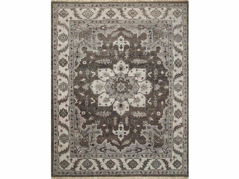 Wool rug RILEY LCA-601 Liquorice/Classic Gray by Jaipur Rugs