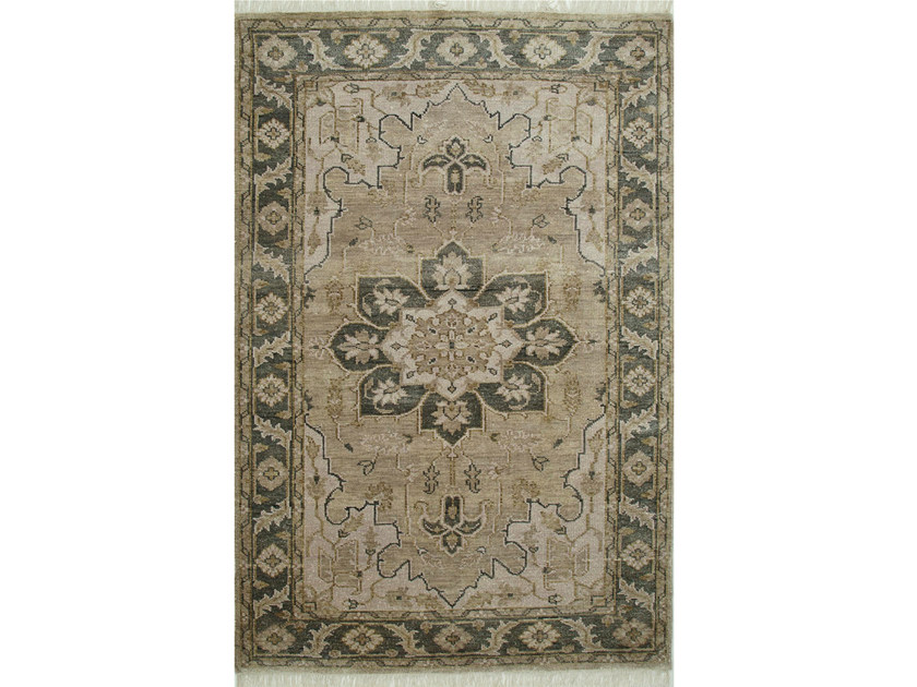 Wool rug RILEY LCA-601 Silver/Blue by Jaipur Rugs