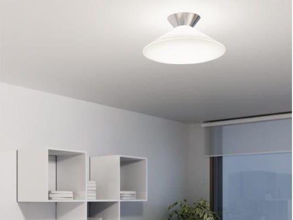 A Iluminacion Milan 6291 Plafoniera Rimbo Alluminio In Led QhCsdtr